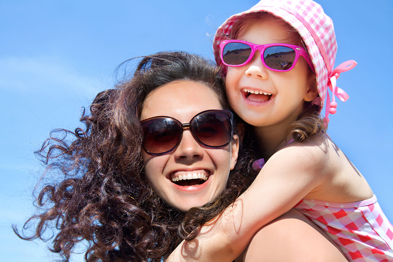 mother and daughter sunglasses